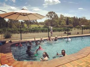 Post harvest swim