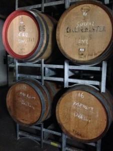 Wine in barell